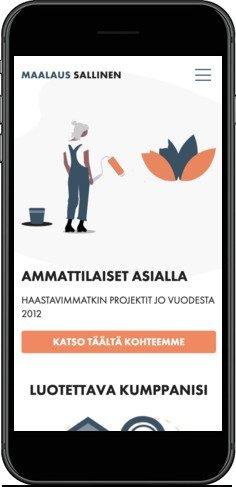 Maalaus Sallinen